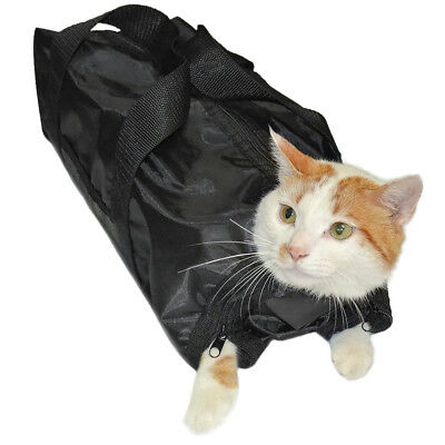 Cat Grooming Bag Restraint Cats Nail Clipping Cleaning Grooming Bag Pet Supply X