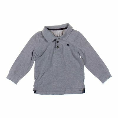 Old Navy Boys Polo Shirt, size 4/4T,  grey,  cotton
