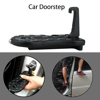 Mini Foot Pedal Ladder Folding Car Door Latch Hook Step for Jeep SUV Truck Roof