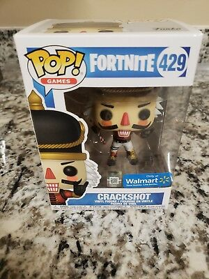 Funko Pop Fortnite Crackshot Walmart Exclusive