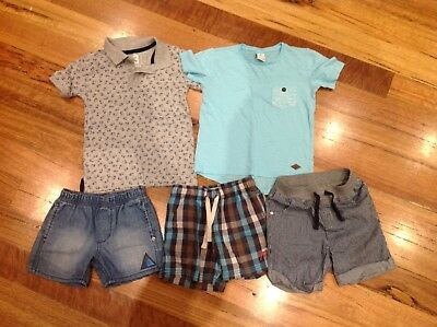 Boys Shorts And Tshirts Size 3 Bundle .. Includes Milkshake Brand and New Items