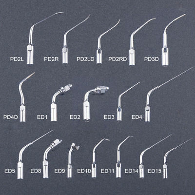 Dental Ultrasonic Scaler Scaling Endo Perio Tips For EMS Woodpecker P/E 17 Types