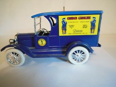 ERTL Continental Oil Co 1923 Chevrolet Delivery Truck Diecast Truck Bank