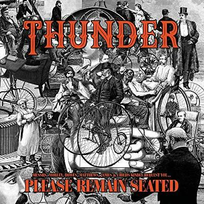 Thunder-Please Remain Seated Vinyl Lp New