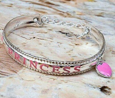 Sterling Silver Baby Princess Bangle