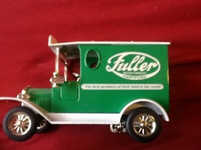Fuller Brush Limited Edition Collectible Die Cast Metal Truck Coin Bank