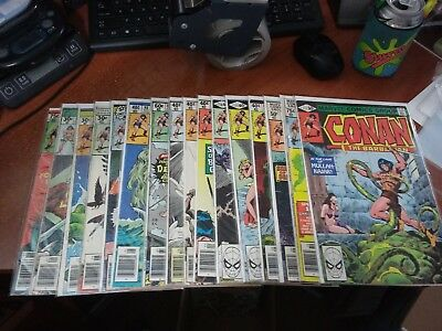 CONAN THE BARBARIAN COMIC LOT #2 - MARVEL - 1970s ... (19/052)