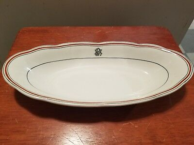 Mt Pleasant Hotel Bretton Woods NH White  Mountains Antique China Dish bowl tray