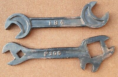 Vintage Farm Machinery Spanners – Mechanic, Collectable, Industrial, Agriculture