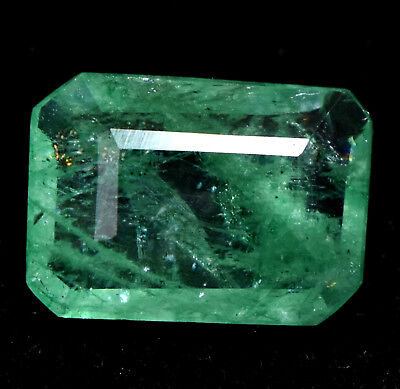 3.20 Ct Natural Green Colombian Emerald AGSL Certified Gem Stone From Muzo