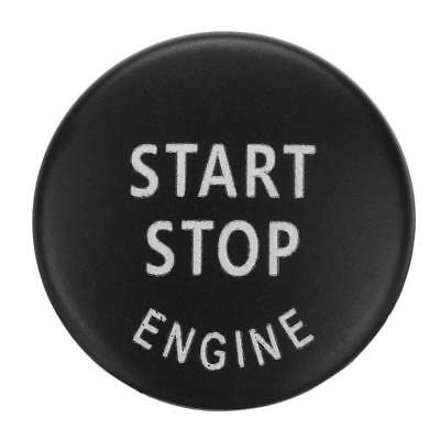Start Stop Engine Button Switch Cover for BMW X5 E70 X6 E71 3 Series(Black) JF#E