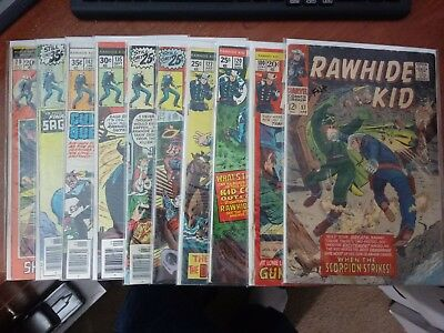Marvel Western Lot - Rawhide Kid ... (19/056)