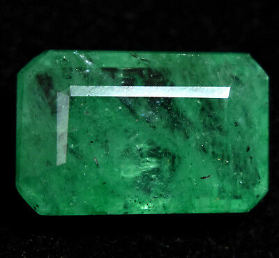 7.40 Ct Natural Green Colombian Emerald AGSL Certified Gem Stone From Muzo