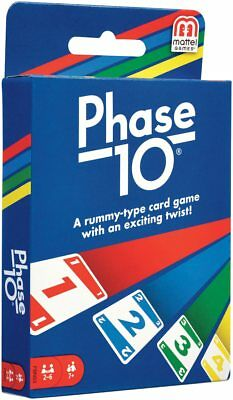 Phase 10 Card Game - From The Makers Of UNO-  NEW & IN STOCK