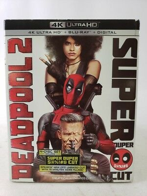 Deadpool 2 Super Cut 4K Ultra HD Region A Blu-ray