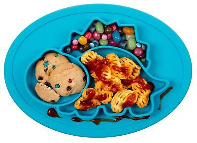 Portable Baby Plate for Toddlers & Kids, BPA-Free Strong Suction Plates 11x8x1in