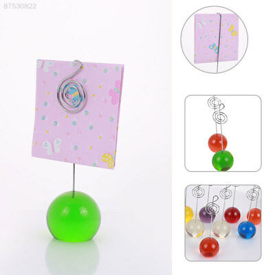 45FA Cute Card Holders Photo Clamps Party Random Color Resin Picture Clamps
