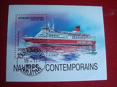 Madagascar - 1994 Modern Liners - Minisheet - Unmounted Used - Ex Condition