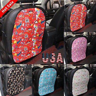 Car Seat Back Cover Protector Kick Clean Mat Pad Anti Stepped Dirty for Kids TOP