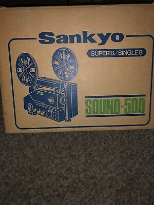 Sanyo Super 8 Sound -500 Projector