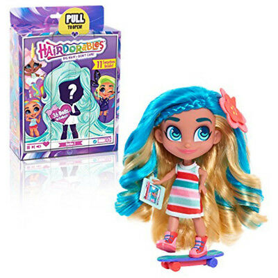 Noah Hairdorables Dolls Long Hair Girls Doll Toy Gift Collectible Surprise Dolls