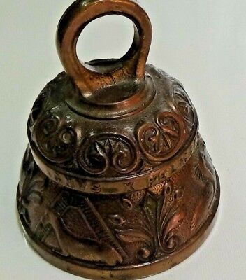 Vintage Cast Bronze Bell - Made in England