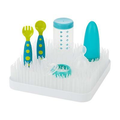 White Grass Countertop Kitchen Baby Milk Bottle Nipple Pacifier Toy Drying Rack