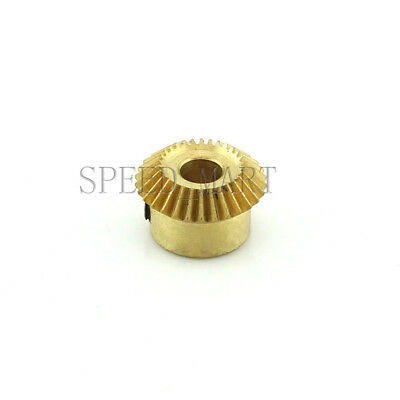 0.5M30T Metal Umbrella Tooth Bevel Gear Helical Motor Gear 5/6mm Bore 3.5mm Wide