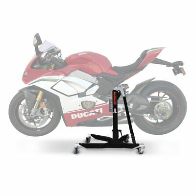 Center Paddock Stand Lift CS Power Ducati Panigale V4 Speciale 2019 black mat