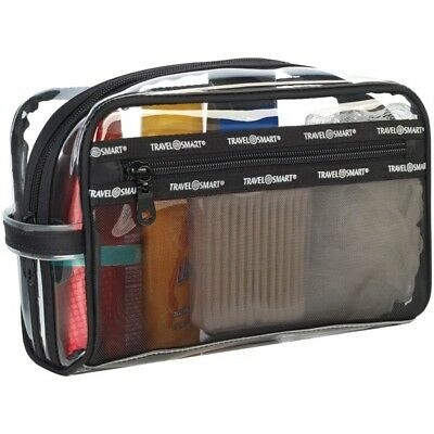 TRAVEL SMART(R) TS78SK Travel Smart(R) Transparent Sundry Pouch/Cosmetic Bag