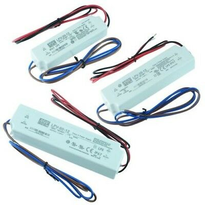 Mean Well 12V LED Power Supply Driver Waterproof IP67 18W 35W 60W