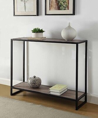 Accent Console Table Furniture Vintage Rustic