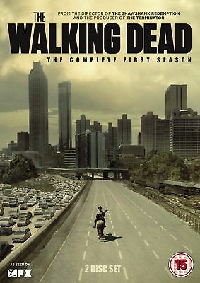 The Walking Dead-Complete First Season-Dvd-Brand New Sealed