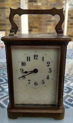 Working Antique French Carriage Clock (with key)