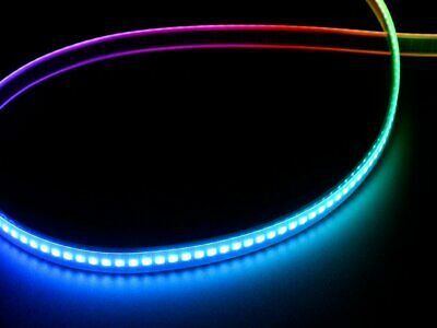 Digital LED Strip - Black 144 LED/m APA102C 5050 RGB LED- 0,5 Meter CP16013