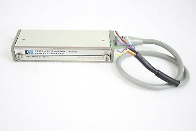 HP 33322H Programmable Step Attenuator, 110 dB max, Opt 011, 18GHz