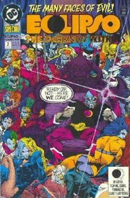 Eclipso The Darkness Within (1992 Ltd) #   2 Near Mint (NM) DC Comics MODERN AGE