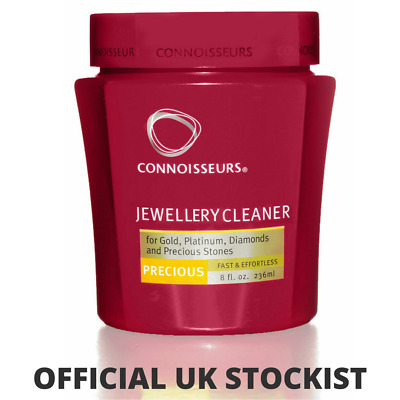 Gold and diamond Jewellery Cleaner Cleaning pot Connoisseurs Ultrasonic Tub Dip