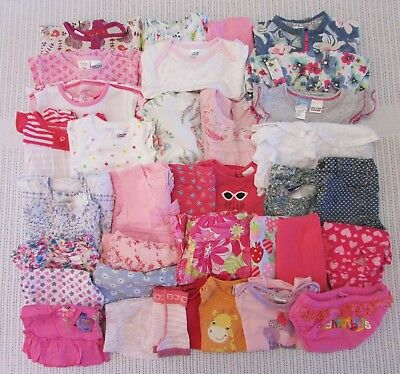Bulk Baby Girls Size 00/3-6m Clothes Target Sprout Seed Heritage Bonds Purebaby