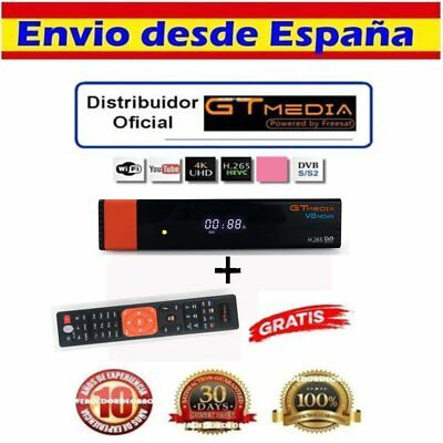 Satelite Gtmedia V8 Tv Receptor Full HD 12V/1.5A Integrado Wifi Set Top Caja