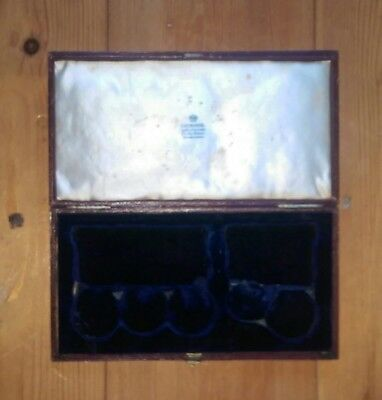 Original Victorian military  medal presentation box for five medals