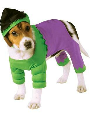 Incredible Hulk Superhero Novelty Funny Dog Pet Fancy Dress Costume