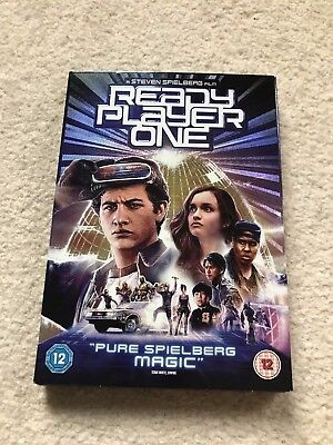 Ready Player One [DVD] [2018] - Region 2 UK Brand New never played