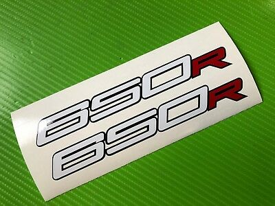 Suzuki Logo Track bike or road fairing Decals Stickers PAIR #156