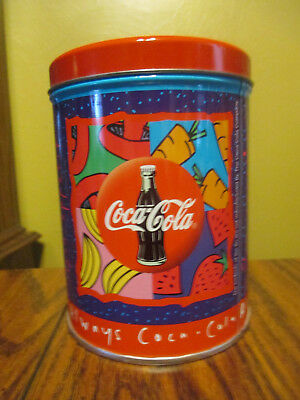 "Coca- Cola Tin ,""bon Appetit "" - ""always Coca-Cola"" 1995"