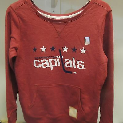 VINTAGE 90S WASHINGTON Capitals NHL Hockey Crewneck Sweatshirt Mens ... 48a3ca76a