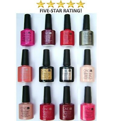 Cnd Shellac Uv Gel Nail Polish - The Professional Choice
