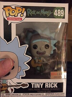 Funko Pop Rick And Morty Tiny Rick # 489 Box Lunch Boxlunch Sold Out