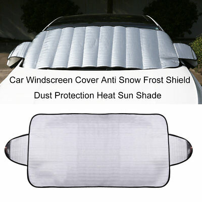 Car Windscreen Cover Anti Snow Frost Shield Dust Protection Heat Sun Shade OL