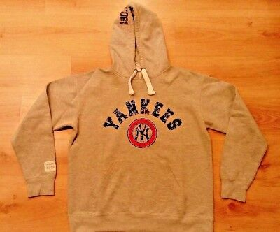 Large Man Official New york Yankees hooded jumper- NY- Majestic- USA- MLB